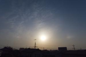 20210401_夕空の幻日