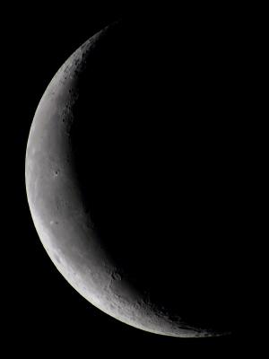 20210408夜明けの月