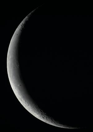 20210409夜明けの月